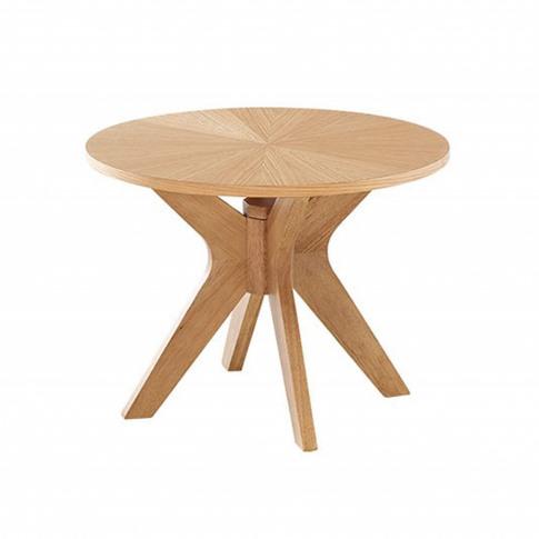 Lpd Malmo White Oak Side Table