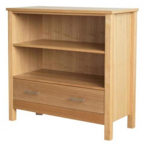 Lpd Oakridge 1 Drawer Low Bookcase
