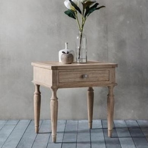 Caspian House 1 Drawer Bedside Table