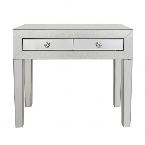 Aria Mirrored 2 Drawer Dressing Table