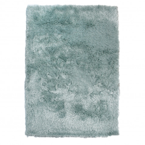 Dazzle Duck Egg Blue Rug With Sparkles 120x170cm - F...