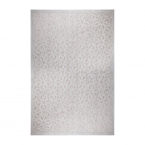 Silver Indoor/Outdoor Rug 120x170cm - Flair Argento