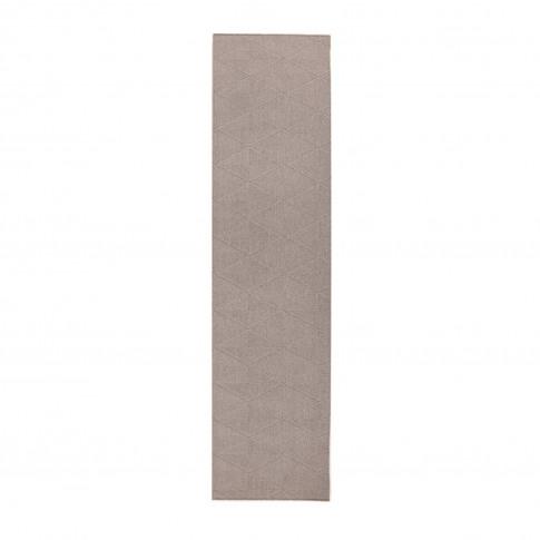 Grey Hallway Runner Rug 57x230cm - Flair Petronas