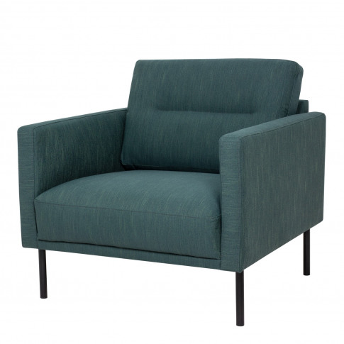 Dark Green Fabric Armchair- Kyle
