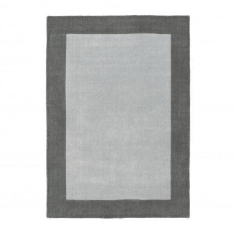 Ripley Grey Border Rug 120x170cm