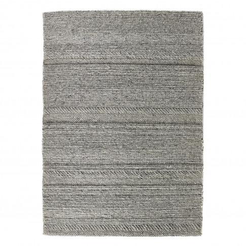 Ripley Grey Chunky Knit Rug 160x230cm