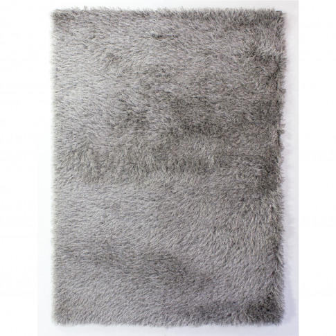 Dazzle Silver Rug With Sparkles 60x110cm - Flair