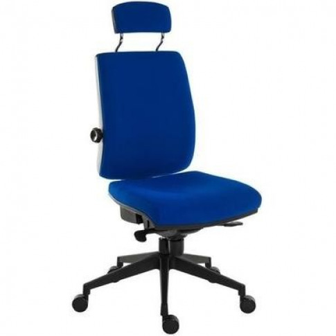 Ergo Blue Fabric Office Chair