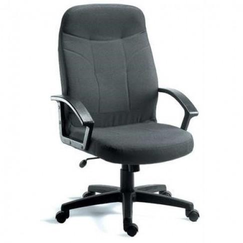 Mayfair Charcoal Grey Fabric Office Chair