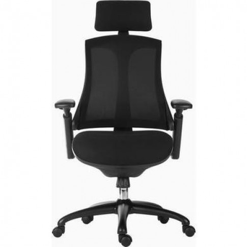 Rapport Black Mesh Office Chair