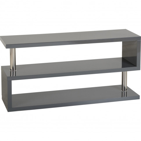 Charisma Tv Stand In Grey Gloss