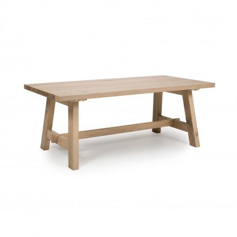 Light Oak Coffee Table - Marshall