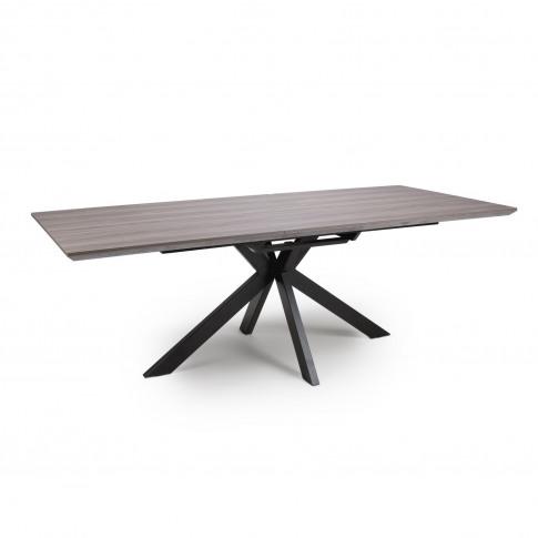 Grey Extendable Dining Table- Manhattan