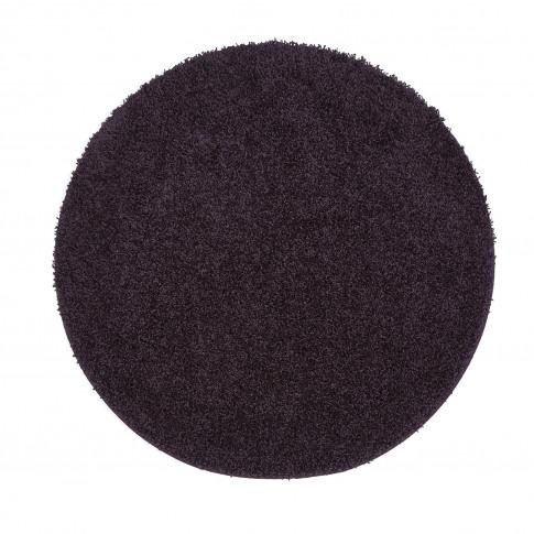 Ripley Stain Resistant Circle Purple Rug - 100x100cm
