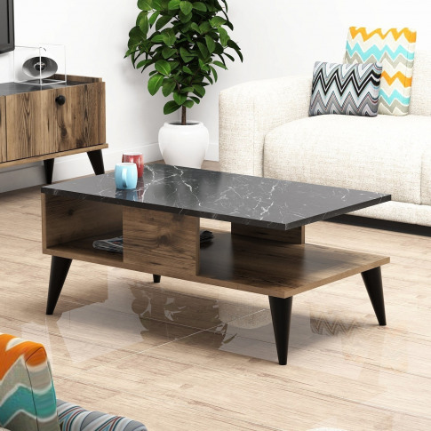 Lidya Marble Top Coffee Table