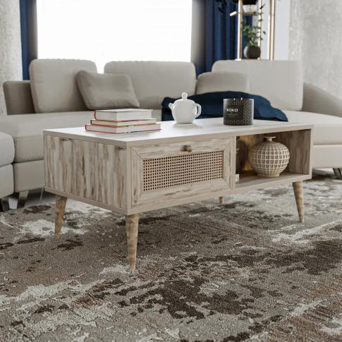 Sidyma Oak Coffee Table