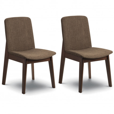 Julian Bowen Pair Of Kensington Wooden Dining Chairs...