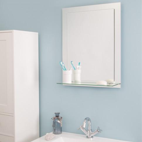 Croydex Devoke Rectangular Double Layer Mirror With ...