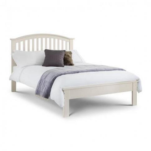 Julian Bowen Olivia Stone White Double Bed