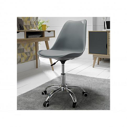 Lpd Orsen Swivel Office Chair In Grey