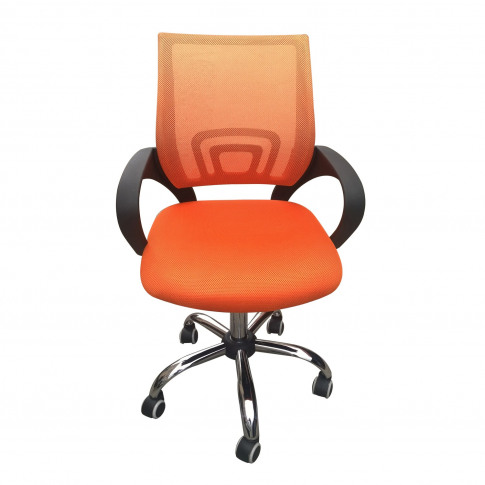 Lpd Tate Mesh Back Office Chair In Orange