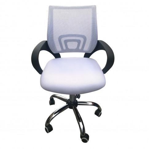 Lpd Tate Mesh Back Office Chair In White