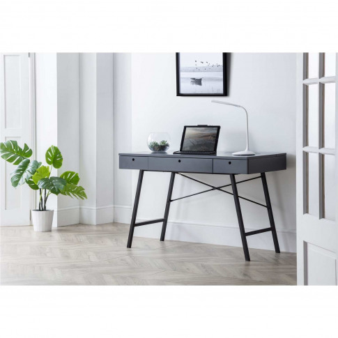 Julian Bowen Trianon Desk - Grey