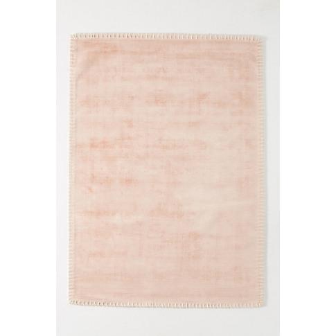 Whipstitch Rug - Pink, Size 5 X 7