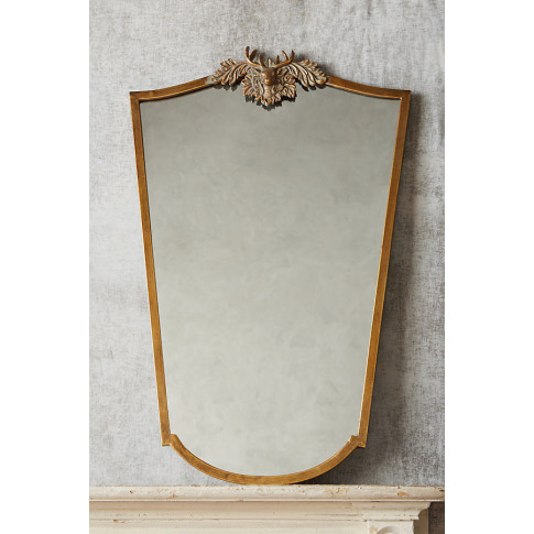 Deer Wooded Manor Mirror