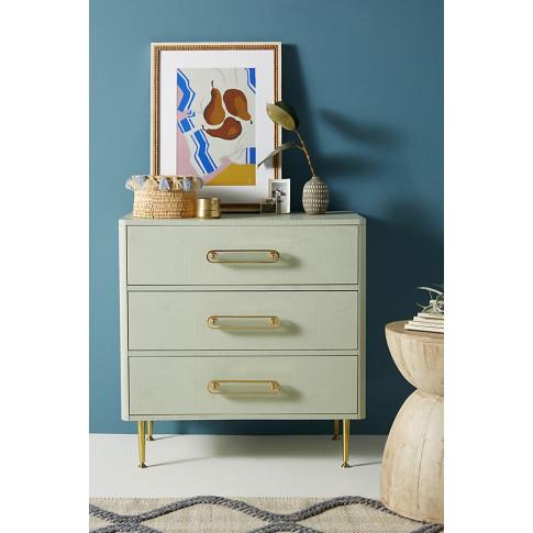 Odetta Three-Drawer Dresser - Mint