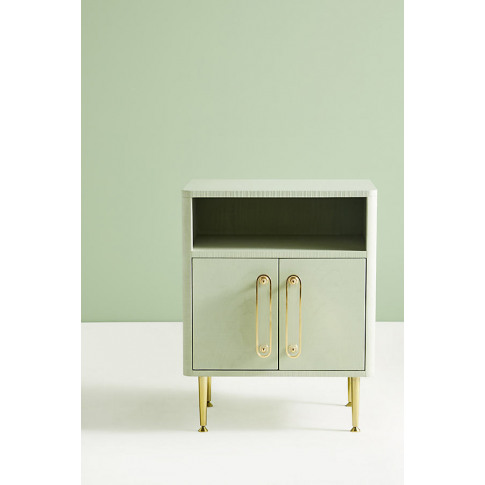 Odetta Bedside Table - Green