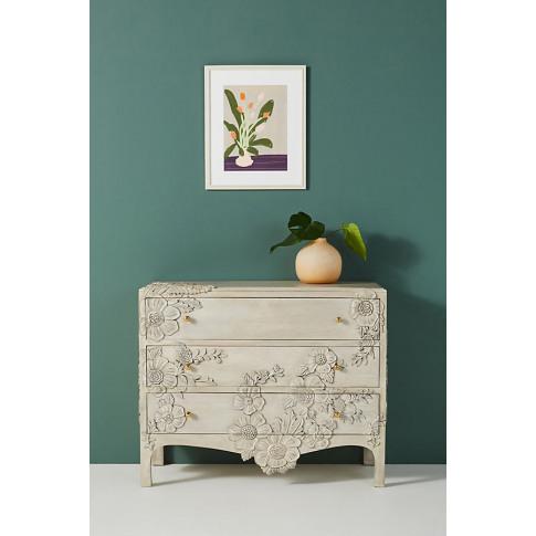 Enchantment Three-Drawer Dresser - Grey