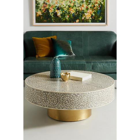 Targua Scrolled Vine Coffee Table