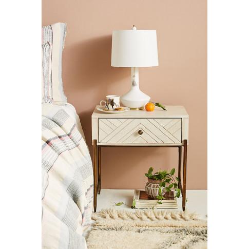 Embury Bedside Table - Beige
