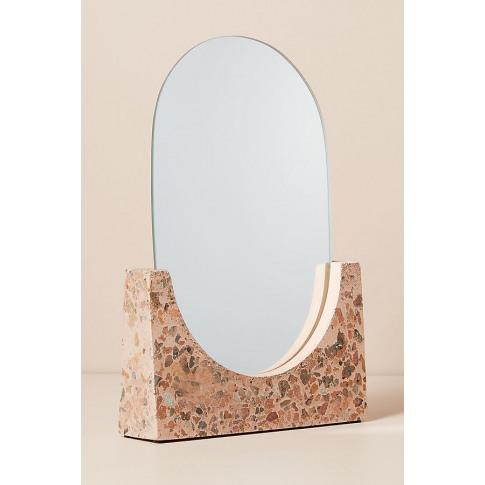 Terrazzo Mirror - Pink