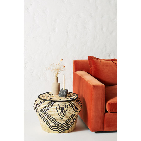 Silas Woven Side Table - Assorted