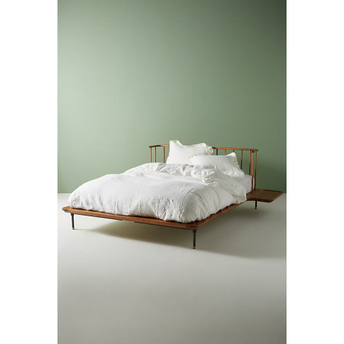 District Eight Bed - Brown