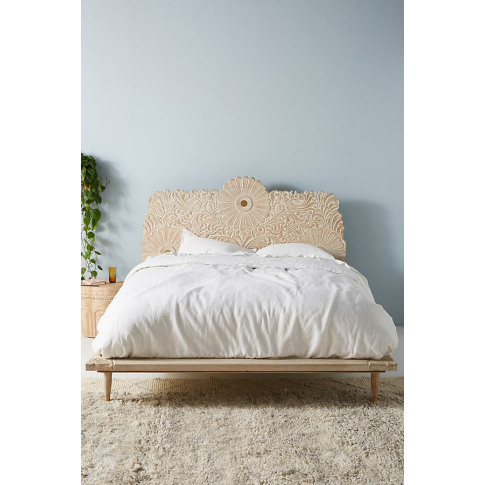 Gulliver Bed - White, Size Eu King