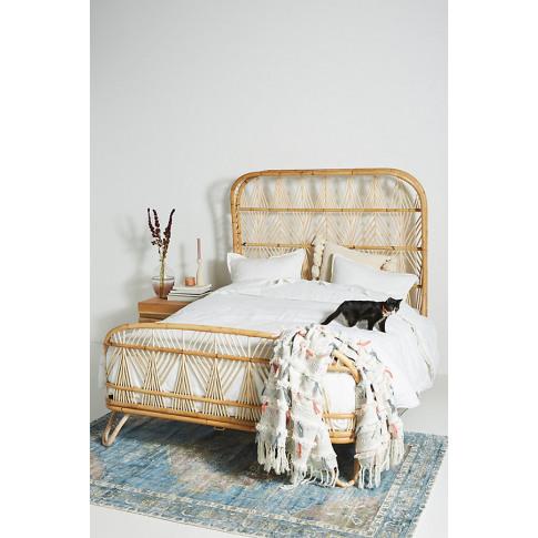 Justina Blakeney Ara Bed - Beige, Size Eu King