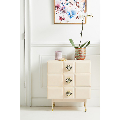 Huxley Bedside Table - Pink, Size Xs