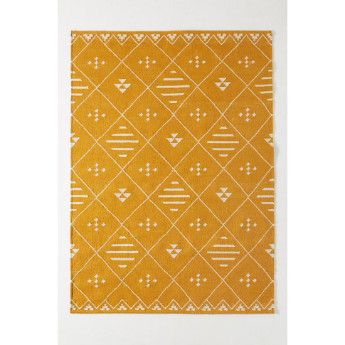 Maylan Rug - Yellow, Size 5x8