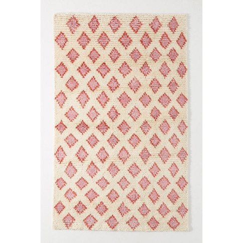 Hand-Knotted Alia Rug - Pink, Size 3 X 5