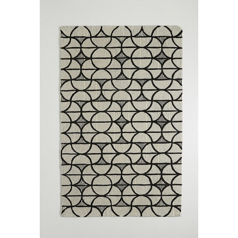 Tufted Tilly Rug - Assorted, Size 4 X 6