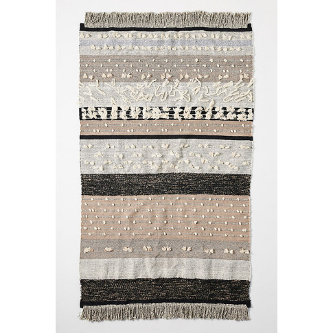 All Roads Flatwoven Yucca Rug - Assorted, Size 5x8