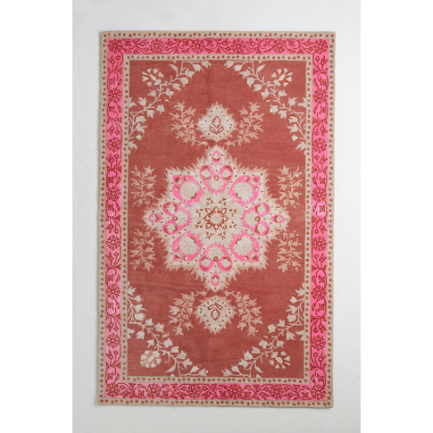 Hand-Tufted Annabelle Rug - Pink, Size 3 X 5