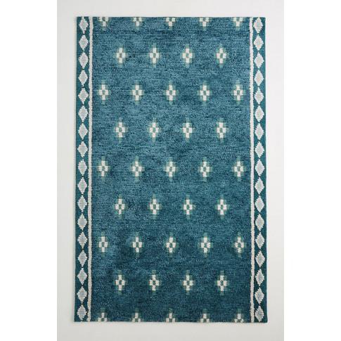 Hand-Tufted Jassa Rug - Blue, Size 5x8
