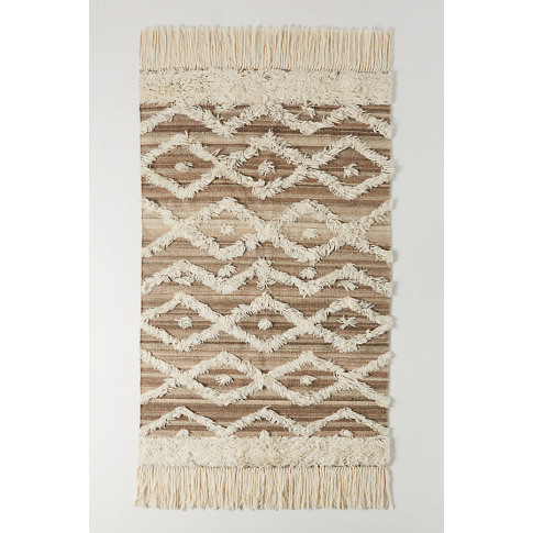 Soho Home X Anthropologie Textural Moroccan Rug - Be...