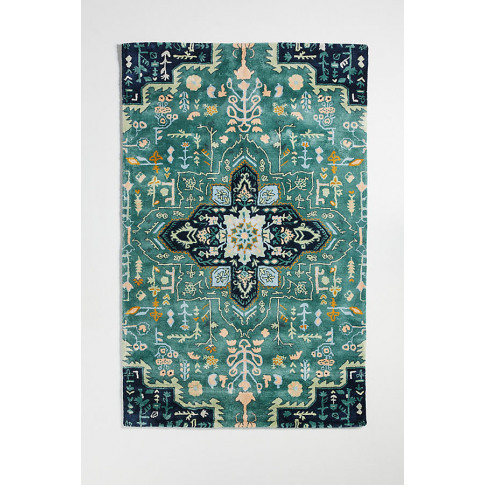 Tufted Maribelle Rug - Blue, Size 9x12