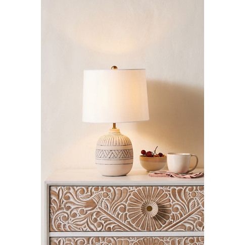 Toba Ceramic Table Lamp