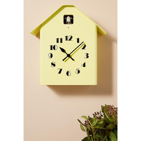 Dachs Cuckoo Clock - Yellow